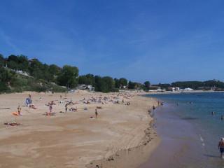 La playa de Los Peligros, un paraíso en pleno centro de Santander