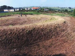 La Mota de Trespalacios; una fortificación medieval típica del norte de Europa